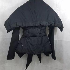 lululemon black down to the studio jacket
